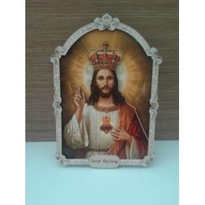 Hiasan Dinding Christ The King 23Cm
