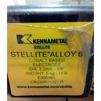 Kawat Las Kennametal Stellite 6 (Electrode)