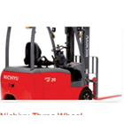 Three Wheel Counter Balanced Truck Nichiyu 1