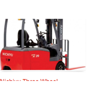 Forklift Three Wheel Counter Balanced Truck Nichiyu