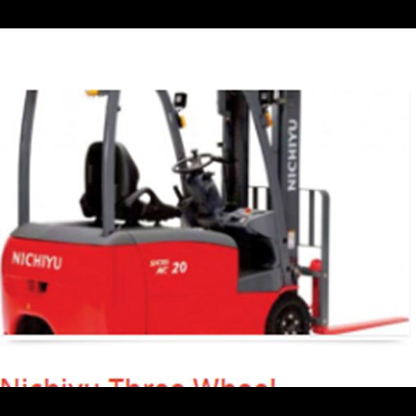 Forklift Three Wheel Counter Balanced Truck Nichiyu