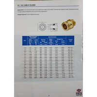Brass Cable Gland A2 16