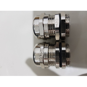 Dari cable gland M40 nickle plated 0