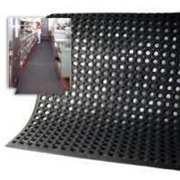 Rubber Perforated Holes