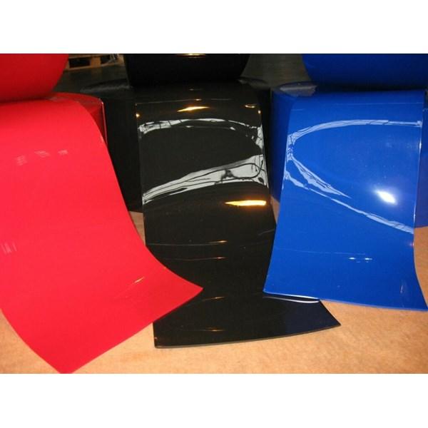 Tirai PVC Strip Plastik Hitam