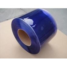 PVC Strip Curtains Blue