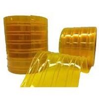 Tirai  Pvc Strip Plastik Kuning Tulang ( 085782614337 )