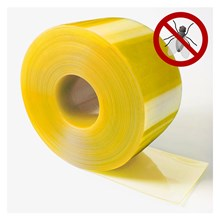 PVC Strip Curtain Yellow (Anti Insect) Jakarta (08