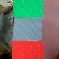 Karet matt Koin warna abu-Abu