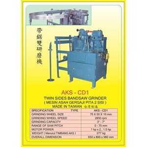 MESIN GERGAJI BANDSAW SHARPENER AKS-CD1