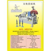 Gergaji Mesin BANDSAW SHARPENER AKS-MBS700
