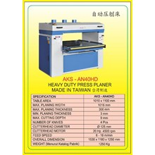 MESIN PRESS Auto Single Press Planer AN40HD