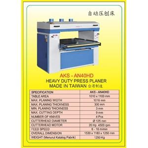 MESIN PRESS Auto Single Press Planer AN40HD