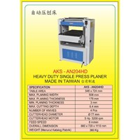 MESIN PRESS Auto Single Press Planer AN204HD 1