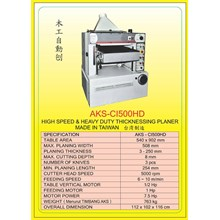 MESIN PRESS Auto Single Press Planer CI500HD