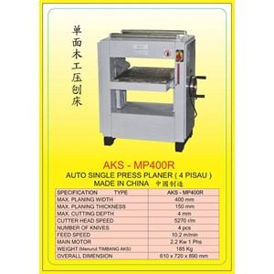 MESIN PRESS Auto Single Press Planer MP400R