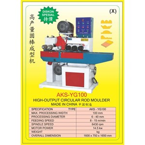 ALAT ALAT MESIN Moulding Machine YG100