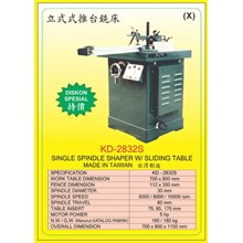 ALAT ALAT MESIN Single Spindle Shaper KD2832S