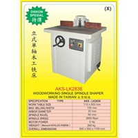 ALAT ALAT MESIN Single Spindle Shaper LK2836 1