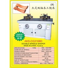 ALAT ALAT MESIN Double Spindle Shaper CG3168D