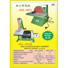 ALAT ALAT MESIN Disc & Belt Sander AS135