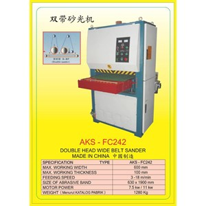 ALAT ALAT MESIN Single & Double Head Wide Belt Sander FC242