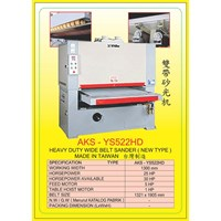 ALAT ALAT MESIN Single & Double Head Wide Belt Sander YS522 1