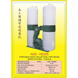 ALAT ALAT MESIN Hop Pocket Dust Collector HE205