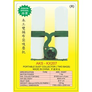 ALAT ALAT MESIN Hop Pocket Dust Collector KX207