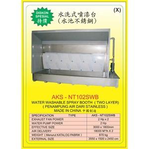 ALAT ALAT MESIN Spray Water Booth NT102SWB
