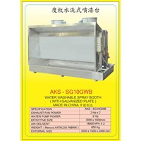 ALAT ALAT MESIN Spray Water Booth SG10GWB 1