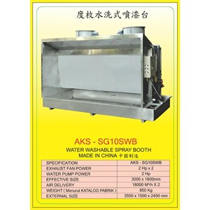 ALAT ALAT MESIN Spray Water Booth SG10WB