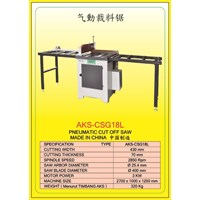 ALAT ALAT MESIN Circular Table Saw & Pneumatic Cut Saw CSG18G 1