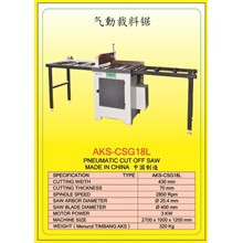 ALAT ALAT MESIN Circular Table Saw & Pneumatic Cut Saw CSG18G