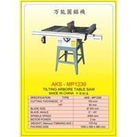 ALAT ALAT MESIN Circular Table Saw & Pneumatic Cut Saw MP1230 1