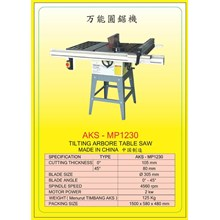 ALAT ALAT MESIN Circular Table Saw & Pneumatic Cut Saw MP1230