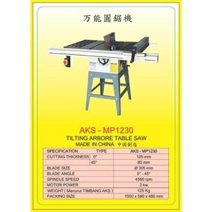 ALAT ALAT MESIN Circular Table Saw & Pneumatic Cut Saw MP1230
