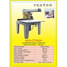ALAT ALAT MESIN Radial Arm Saw Double End Miter Saw CIT640A