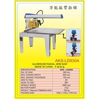 ALAT ALAT MESIN Radial Arm Saw Double End Miter Saw LD930A 1
