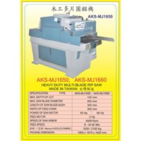 ALAT ALAT MESIN Multi Blade Rip Saw MJ1650 1