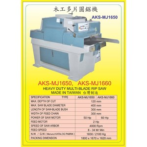 ALAT ALAT MESIN Multi Blade Rip Saw MJ1650