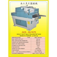 ALAT ALAT MESIN Multi Blade Rip Saw MJ1675 1