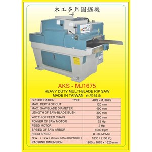 ALAT ALAT MESIN Multi Blade Rip Saw MJ1675
