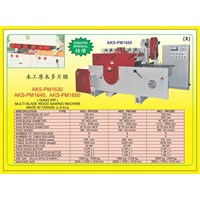ALAT ALAT MESIN Multi Blade Rip Saw PM1630 1