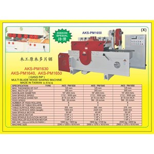 ALAT ALAT MESIN Multi Blade Rip Saw PM1630