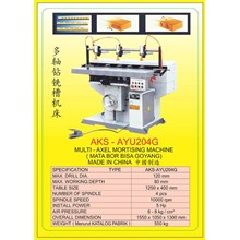 ALAT ALAT MESIN Vertical & Horizontal Multi Boring Machine AYU204G