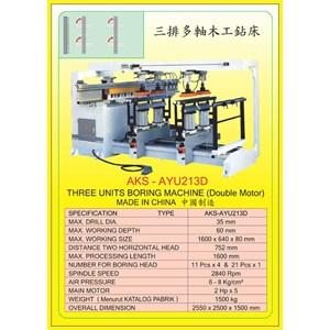 ALAT ALAT MESIN Vertical & Horizontal Multi Boring Machine AYU213D