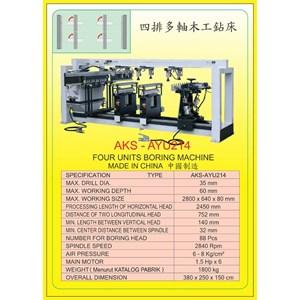 ALAT ALAT MESIN Vertical & Horizontal Multi Boring Machine AYU214