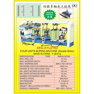 ALAT ALAT MESIN Vertical & Horizontal Multi Boring Machine AYU214D
