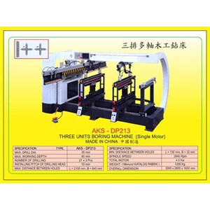 ALAT ALAT MESIN Vertical & Horizontal Multi Boring Machine DP213